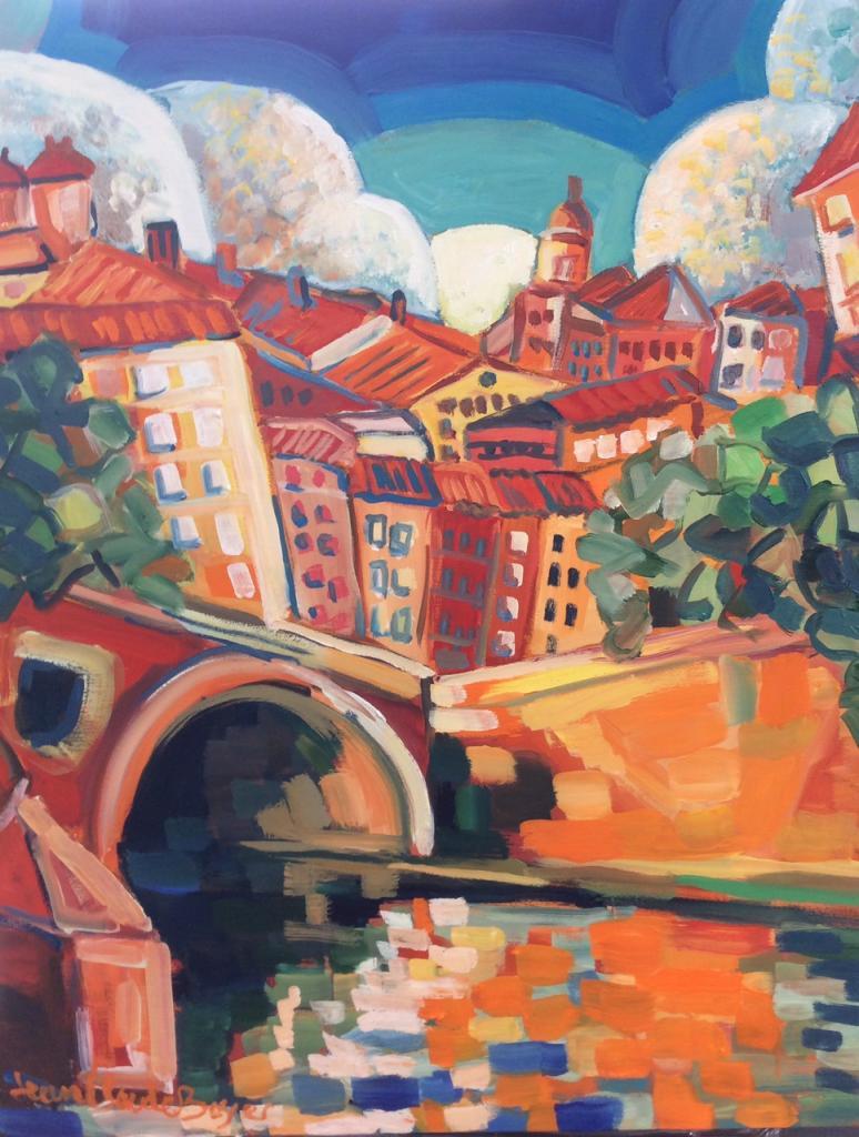 Le pont neuf au quai de Tounis